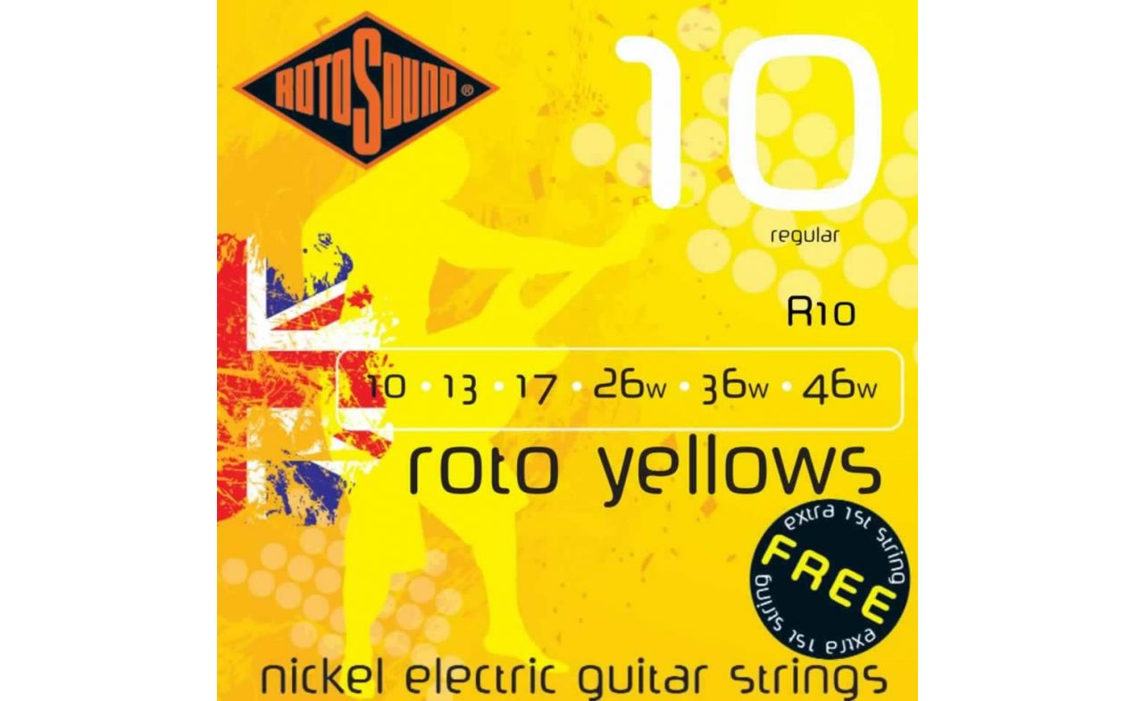 Nickel Electric Roto Yellows R10 Žice 10/46