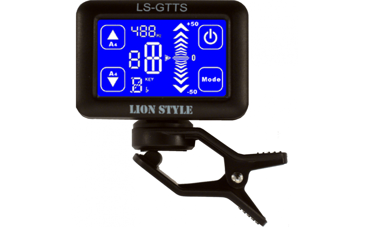 Štimer Clip-On LS-GTTS Touch Screen Tuner