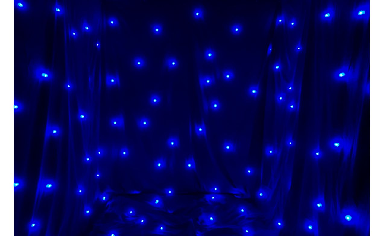FOS LED STAR CURTAIN