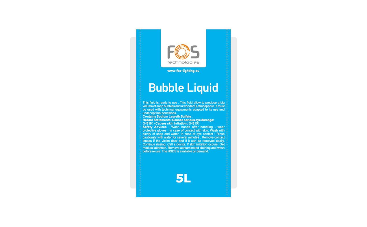 FOS BUBBLE LIQUID 5L
